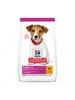 Hills - Science Plan Small&Mini Puppy - Пълноценна суха храна за дребни и миниатюрни породи кучета от отбиване до 1 година. За бременни и кърмещи кучета  с пилешко месо - 0.300 кг.