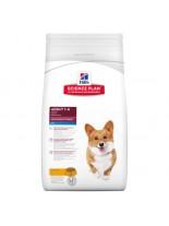 Hills - Science Plan Small & Mini Adult Chicken - Пълноценна суха храна за дребни и миниатюрни породи кучета до 10 кг. в зряла възраст от 1 до 6 години с пилешко месо - 0.3 кг.