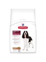 Hills - Science Plan Adult Medium Lamb & Rice - За кучета от средни породи от 10 до 25 кг с умерени енергийни нужди, от 1 до 7 години, с агне & ориз - 14 кг.