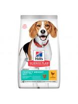 Hills - Science Plan Canine Adult Light Chicken – Пълноценна суха храна за кучета от дребни и средни породи, склонни към наднормено тегло, над 1 г. с пилешко месо - 2.5 кг.