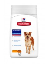 Hill's - Science Plan™ Canine Mature Adult 7+ Active Longevity™ Medium with Chicken - За кучета от средните породи над 7 години (с пиле) - 12 кг.