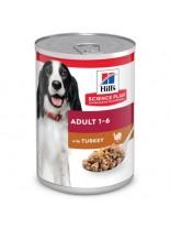 Hill's - Science Plan™ Canine Adult  Savoury Turkey - За кучета от всички породи (консерва с пуешко) - 370 гр.