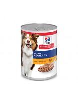 Hill's - Science Plan™ Canine Mature Adult 7+ Savoury Chicken - За кучета от всички породи над 7 години (консерва с пиле) - 370 гр.