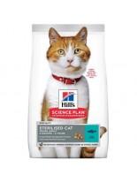 Hill's - Science Plan Sterilised Cat Young Adult Tuna - За млади кастрирани котки от 6 месеца до 6 години с риба тон - 1.5 кг.