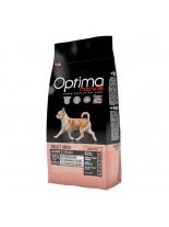 Visan Optima Nova Adult Mini Sensitive Salmon & Potato (GRAIN FREE) - суха храна за кучета от мини породи, на възраст над 10 месеца без глутен със сьомга и картофи - 0.800 кг.