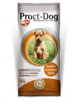 Visan Proct Dog Puppy Chicken 30/14 - суха храна за подрастващи кучета от 2 до 12 месеца, за всички породи с пилешко месо - 20 кг.