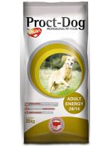 Visan Proct Dog Adult Energy 28/14 - високоенергийна храна за кучета над 12 месеца, за всички породи с говеждо месо - 20 кг.