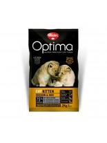 Visan Optima Cat Kitten Chicken & Rise - супер премиум храна с чисто пилешко месо за подрастващи котки от 1 месец до 1 година - 0.400 кг.