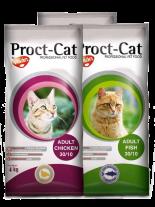 Visan Proct Cat Fish - пълноценна храна с риба за котки над 12 месеца - 20 кг.