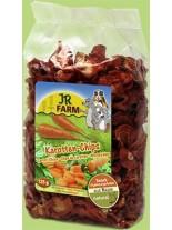 JR Farm - Специалитет, лакомство - Натурални резенчета от моркови за гризачи - 125 гр.