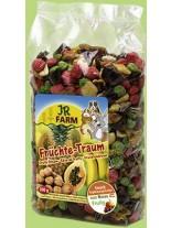 JR Farm - Специалитет, лакомство - Плодова мечта за гризачи - 200 гр.