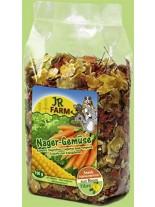 JR Farm - Специалитет, лакомство - зеленчуков микс за гризачи - 150 гр.