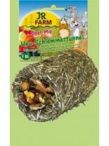 JR Farm - Специалитет, лакомство - Гурме Тунел от Сено – Плодов Микс за гризачи - 1 бр.