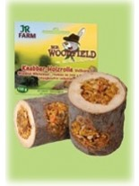 JR Farm - Специалитет, лакомство - Roll'n'Tree-Дървен рол с моркови за гризачи - 150 гр.