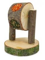 JR Farm - Хранилка с подбрани лакомства – колело за гризачи - 200 гр.