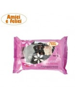Camon Cleaning wipes excel - мокри кърпички с алое вера, 40 бр.