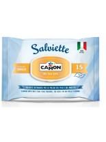 Camon - Мокри кърпи с аромат на ванилия  - 15 бр.