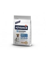 Advance Dog Mini Adult - суха храна за израстнали кучета (от 8 месеца до 8 години) от дребните породи (до 10кг в зряла възраст) - 7.5 кг