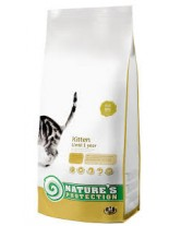 NATURE'S Protection - Kitten - Super Premium суха храна за млади котки до 1 година - с пилешко месо - 7 кг.