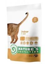 NATURE'S Protection - Indoor - Super Premium суха храна за котки над 1 година, живеещи в затворени помещения - с пилешко месо - 0.400 кг.