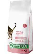NATURE'S Protection - Sensitive digestion - Super Premium суха храна за капризни котки над 1 година - с пилешко месо - 2 кг.