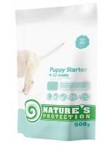 NATURE'S Protection - Starter - Super Premium суха храна за отбиване на малките кученца от всички породи от 4 до 12 седмична възръст - с пилешко месо - 0.500 кг.