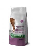 NATURE'S Protection - Maxi Junior - Super Premium суха храна за подрастващи кученца от средните породи (над 25 кг.) от 2 до 18 месечна възръст - с пилешко месо - 4 кг.
