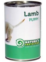 NATURE'S Protection - Puppy Lamb - Високо качествена консера  за подрастващи  кучета до 1 година с  агнешко месо - 0.400 кг