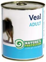 NATURE'S Protection - Adult Veal - Високо качествена консера  за  кучета над 1 година с говеждо - 0.400 кг.