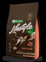 Nature's Protection LifeStyle Cat - Grain Free - Kitten Salmon - Супер премиум, високо качествена храна без зърно за котки до 12 месеца  със сьомга - 0.4 кг.