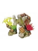 "Nobby - Aqua Ornaments ""KORALLE"" mit Pflanzen - Декорация за аквариум - 11х7х8.5 см."