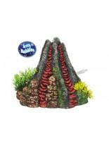 """Nobby - Aqua Ornaments """"VULKAN"""" mit Pflanzen"""" - Декорация за аквариум с възможност за пускане на въздух праз нея - 14х13х12.5 см."""
