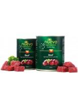 Nuevo Super Premium food for Dogs - Beef - Високо качествена консерва за кучета над 1 година с говеждо месо - 0.400 кг.