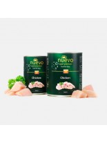 Nuevo Super Premium food for Dogs - Chicken - Високо качествена консерва за кучета над 1 година с пилешко месо - 0.400 кг.