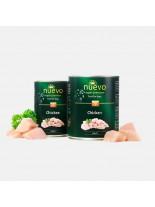 Nuevo Super Premium food for Dogs - Chicken - Високо качествена консерва за кучета над 1 година с пилешко месо - 0.800 кг.