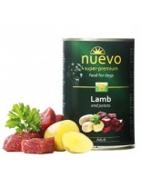 Nuevo Super Premium food for Dogs - Lamb and Patato - Високо качествена консерва за кучета над 1 година с агнешко месо и картофи  - 0.800 кг.