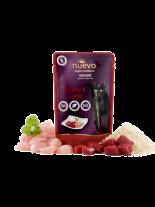 Nuevo Super Premium Cat - Chicken & Lamb Senior - Супер премиум пауч за котки над 7 година с пилешко и агнешко месо и ориз - 85 гр.