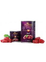 Nuevo Super Premium food for Cats - Beef - Високо качествена консерва за котки над 1 година с говеждо месо - 0.400 кг.