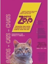 PETIT ZOO CAT MIX 3 COLOR - Суха храна за котки над 1 година - микс - 20 кг.