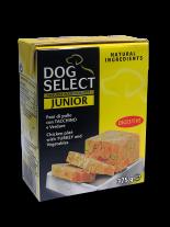 Dog Select - ПАСТЕТ - ПИЛЕ, ПУЙКА И ЗЕЛЕНЧУЦИ - 0.375 кг.