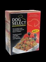 Dog Select - ХАПКИ В СОС - ГОВЕЖДО И ГОРСКИ ПЛОДОВЕ - 0.375 кг.