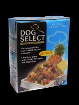 Dog Select - ХАПКИ В СОС - РИБА ТОН, АНАНАС И ЗЕЛЕНЧУЦИ - 0.375 кг.
