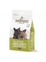 Wellness - Junior Премиум храна за мини зайци - 1 кг.