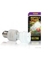 Exo Terra - Reptile Vision - лампа за терариум за стимулиране апетита и размножаването при различни видове влечуги - 13 W.