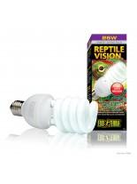 Exo Terra - Reptile Vision - лампа за терариум за стимулиране апетита и размножаването при различни видове влечуги - 26 W.