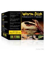 Exo Terra - Mealworm Worm Feeder - съд за хранене с червеи и ларви за терариуми - 9.5х4.5х12.7 см.