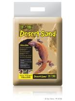 Exo Terra - Desert Sand Yellow - естествен, жълт пустинен пясък за терариум - 4.5 кг.