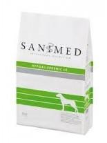 Sanimed - HYPOALLERGEN Lamb & Rice - Хиперелергенна храна за чувствителни и алергични кучета над 1 година с агне и ориз - 12.5 кг.