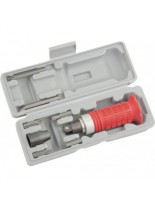 MTX Germany - Отвертка ударна 1/2, с пластмасова кутия, в пластмасова кутия, с комплект битове - 6 бр.
