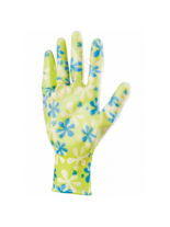 PALISAD - Градински ръкавици, полиестерни с нитрилово покритие - зелени - размер S.